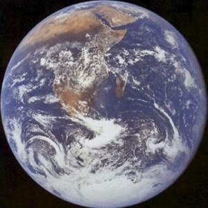 Terre vue de Lune par Apollo
