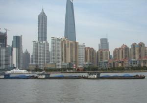 Le quartier PuDong de Shanghai
