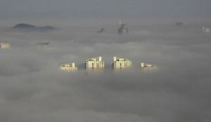 Smog en Chine