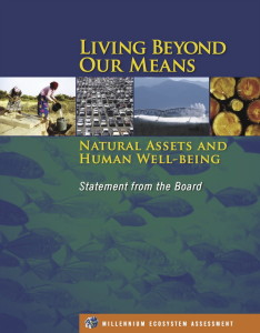 Living Beyond Our Means page titre