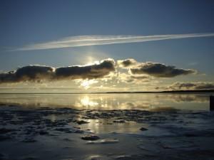 L'aube sur le Saint-Laurent