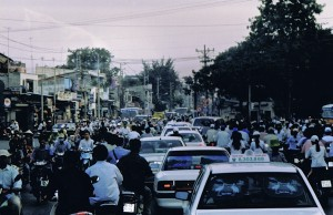 Congestion à Ho Chi Minh Ville