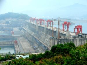 Barrage des Trois-Gorges, en Chine